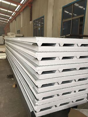 INSULATED ROOF PANELS, EPS TRIM DECK STEEL PANELS 3800mtr long