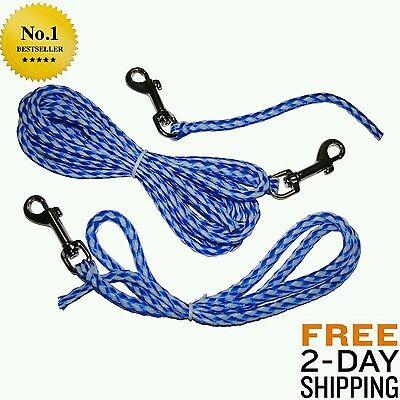 Perfect Dog Freedom Training Lines 9-Inch Set Leash Puppy Don Sullivan Training