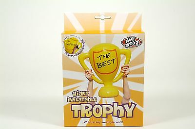 Inflatable Trophy - Giant Blow Up Novelty Award Write Your Own Winner Party Toy
