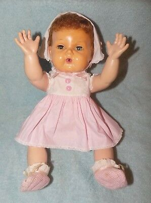 Vintage American Character Doll Tiny Tears 1950's  60's