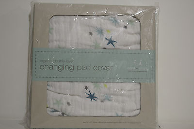 aden + anais Organic Double Layer Changing Pad Cover -Starstruck
