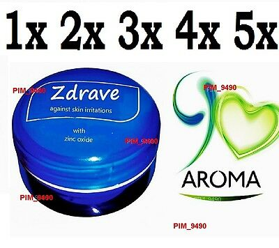 Aroma Cream Zdrave with Zinc Oxide Against Skin Irritatons CHOOSE from 1 to 5!