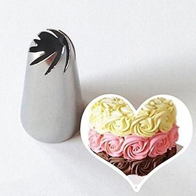 Drop Flower Icing Piping Tips Nozzles Cupcake Decor Pastry Fondant Baking Tool
