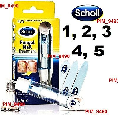 ORIGINAL Scholl Fungal Nail Treatment 3,8ml, Kill Fungus 99.9%, Buy from 1 to 5!