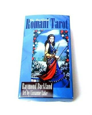The Buckland Romani Tarot English 78 Cards Deck Comes with English Booklet
