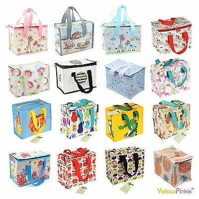 Childrens Kids Lunch Bags School Lunchbox Picnic Bags Insulated Cool Lunch Bag