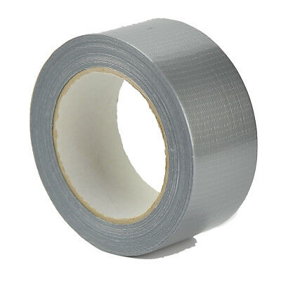 Big Rolls Silver Cloth Duct Gaffer Gaffa Tape50Mm X 50M Strong Water Resistant
