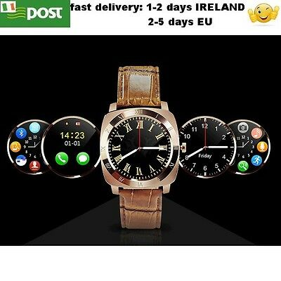 X3 Bluetooth Wrist Smart Watch Heart Rate Bracelet SIM TF Card For Android Hot