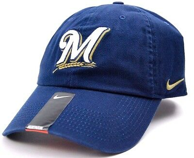 6a0d87cdc81a2 MILWAUKEE BREWERS NIKE MLB Baseball Legacy 91 Stadium Cap Hat ...