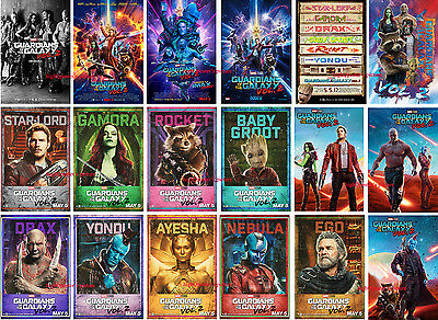 18x Guardians of The Galaxy Vol. 2 movie FRIDGE MAGNET SET poster photo MINT