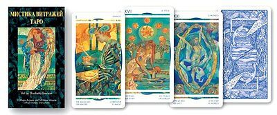 Crystal Tarot New Sealed 78 Card Deck 6 Languages ANKH Swiss Quality