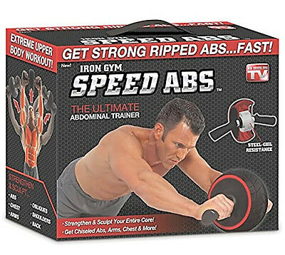 Roller Wheel Speed Abdominal Abs Core Carver Complete Workout System Exercise