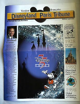 "Rare Edition Speciale ""Disneyland Paris Tribune"" Cast Members"