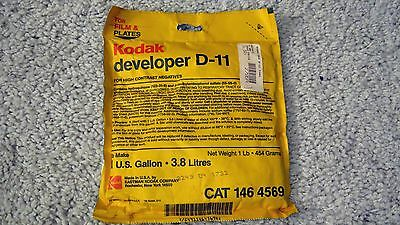 Kodak D-11 High Contrast Developer for Negative Film   Package makes One Gallon