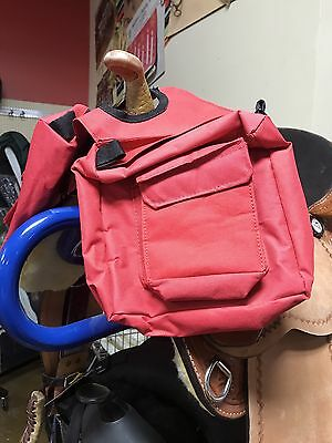 TOUGH 1 Quality & Value Insulated Horn Bag w/Pockets Red