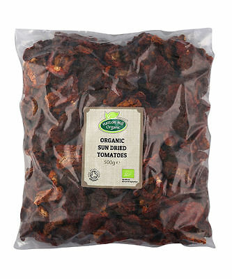 Organic Sun Dried Tomatoes 500g Certified Organic by the Soil Association
