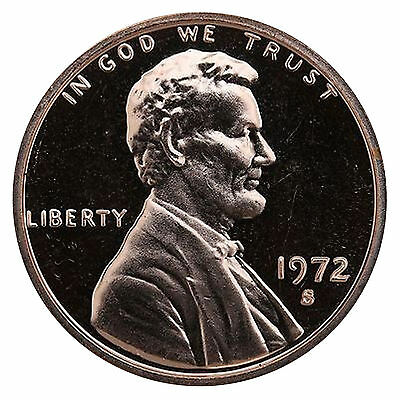 1972-S Lincoln Memorial Cent Penny Gem Proof US Mint Coin Uncirculated UNC