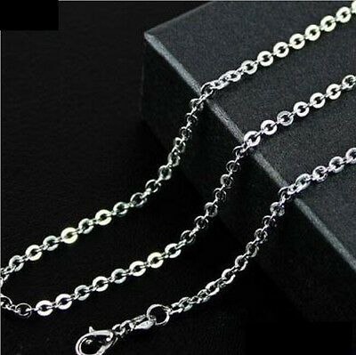 """316L Stainless Steel O Link Chain Necklace Anti allergy Never Fade Wholesale 22"""""""