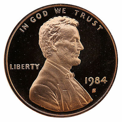 1984-S Lincoln Memorial Cent Penny Gem Proof US Mint Coin Uncirculated UNC
