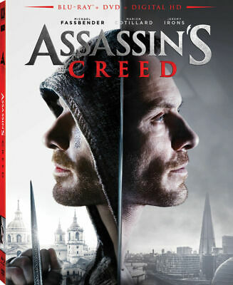 Assassin's Creed Blu-ray, DVD, 2017 Target Exclusive w/ Arm Sleeve + DIGITAL HD
