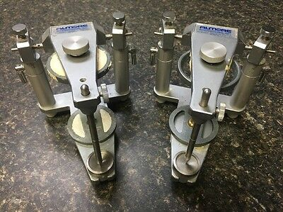 Dental Articulator Lot Of Two Almore International