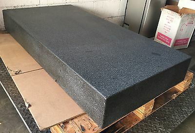 "48"" x 24"" x 6"" THICK GRANITE SURFACE INSPECTION PLATE INDUSTRIAL LABORATORY"