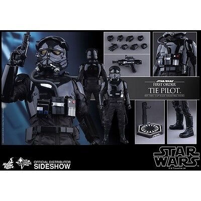 Star Wars The Force Awakens 1/6 Scale First Order Tie Pilot Figure Hot Toys