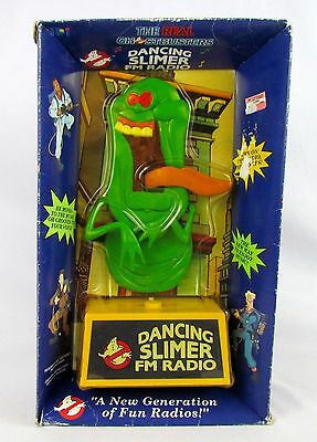 Vtg 1988 The Real Ghostbusters DANCING SLIMVER FM RADIO Factory Sealed MISB MOSC