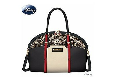 Bradford Exchange Disney Mickey And Minnie Artistic Caught In The Moment Handbag