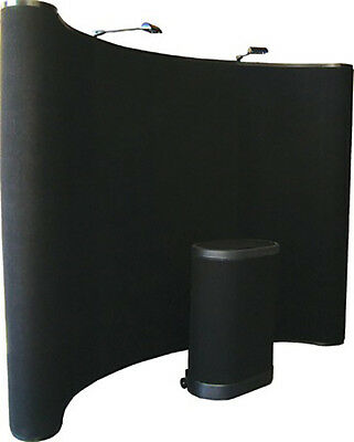 10ft Big Wave Pop Up Display | Fabric Package