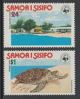 XG-BA017 SAMOA I SISIFO - Wwf, 1978 Nature Protection, Turtles MNH Set