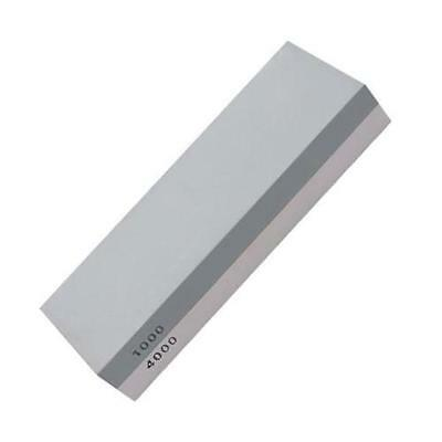 Sided White corundum Sharpening stone 1000/4000 mesh, gray and white D1V9