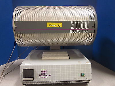 Barnstead Thermolyne 21100 Tube Furnace F21135 w/ Single Set Point Control, 120V