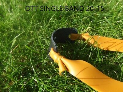 Theraband Gold Elastic Band Set For Catapult, Slingshot, Catty. Practice Bands.