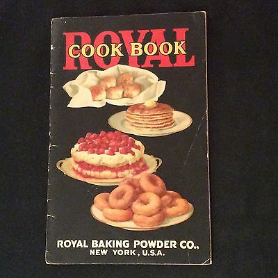 Vintage Royal Baking Powder Cookbook - Recipe Booklet - Absolutely Pure - 1925