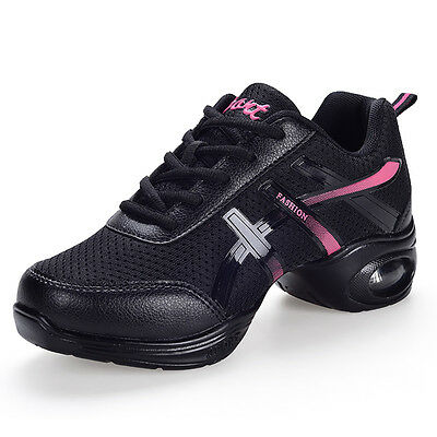 Women's dance shoes performance square dancing sneakers