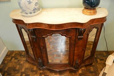 Antique Marble Top Buffet c 1880's