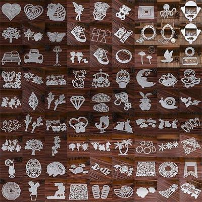 100 Type Metal Cutting Dies Stencil DIY Scrapbook Paper Card Craft Embossing