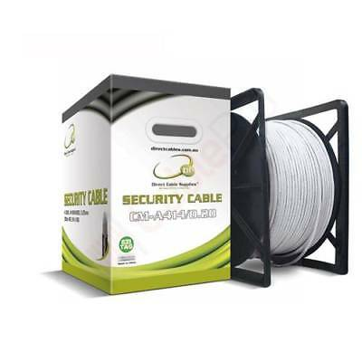 4 Core Security Cable 14/0.20mm-WHITE-300m