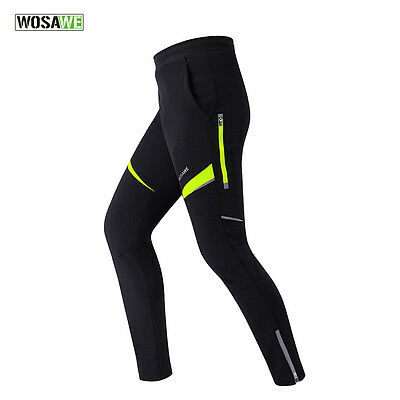 Men's Thermal Trousers Winter Cycling Waterproof/Windproof Tights Bike/Bicycle