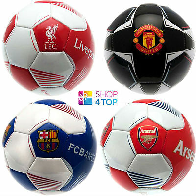 Official Football Soccer Club Team Size 5 Ball 26 Panel Licensed Original New