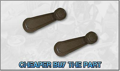Toyota Landcruiser / Hilux Window Winder Handle - Brown (Pair)