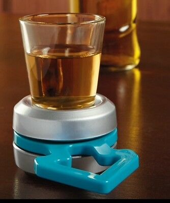 Spin The Shot Drinking Party Game Shot Glass Included