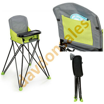 High Chair Baby Seat Feeding Infant Toddler Portable Booster Folding Bag Table