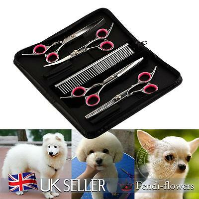 "6"" Professional Salon Hairdressing Hair Cutting Thinning Barber Scissors Set"
