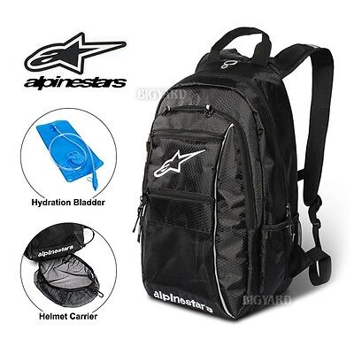 10L ALPINESTARS Hydration Water Bag Pack Cycling Travelling 2L Bladder Backpack
