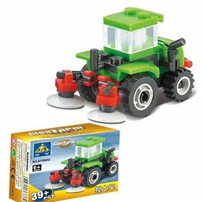 Gift Toy Bricks Block Mixing Soil Car Block #89002 DIY Building Block Mini
