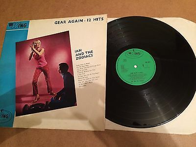 Ian And The Zodiacs - Gear Again -12 Hits Lp Orig 1965  Uk Wing Label Wl 1074 Nm