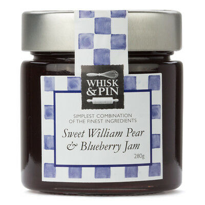 NEW Whisk & Pin Sweet Willam Pear & Blueberry Jam
