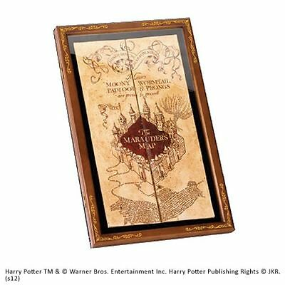 Harry Potter - Display für Karte des Rumtreibers (Marauder´s Map)